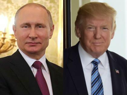 Владимир Путин и Дональд Трамп // Global Look Press