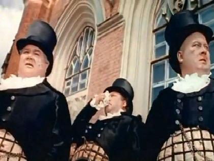 Кадр из фильма «Три толстяка» (1966) // Кадр из фильма «Три толстяка» (1966)
