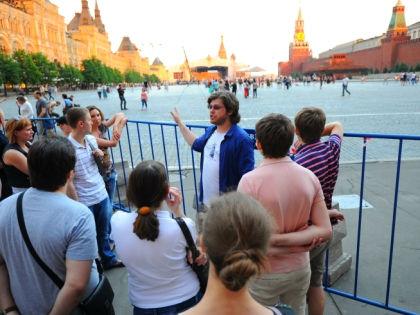 Туристы в Москве // Global Look