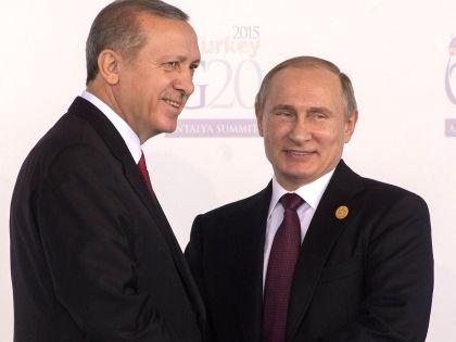 Реджеп Эрдоган и Владимир Путин //  Global Look