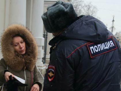 В протестной акции участвовали около 10 человек // Замир Усманов / Russian Look