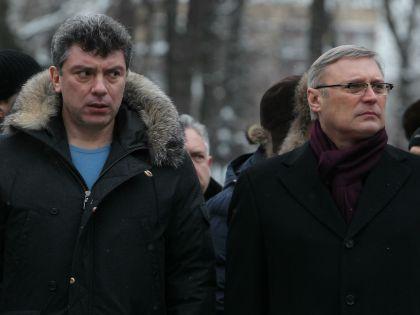 Борис Немцов и Михаил Касьянов // Russian Look