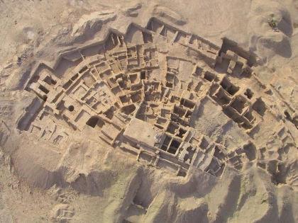 Древний храмовый комплекс в Сирии Телль-Хазна I // архив экспедиции