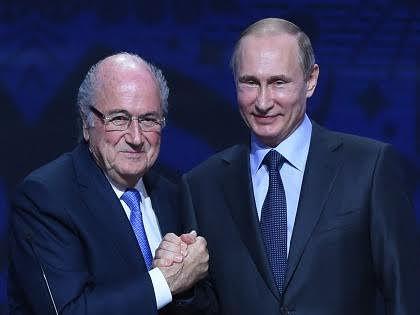 Йозеф Блаттер и Владимир Путин // Global Look Press
