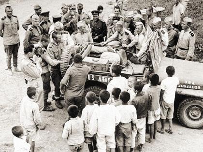 Советские и американские солдаты не раз встречались вдоль 38-й параллели // Александр Алешкин / «Собеседник»