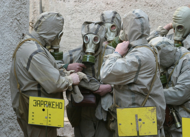 Опасность пожара в Чернобыле для России и Украины опровергли // Zamir Usmanov / Russian Look