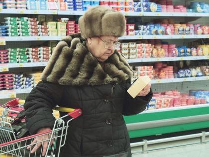 Все больше россиян пробуют подорожавшие продукты не на вкус, а на ощупь // Замир Усманов / Russian Look