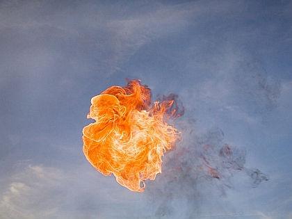 Взрыв в небе // Global Look
