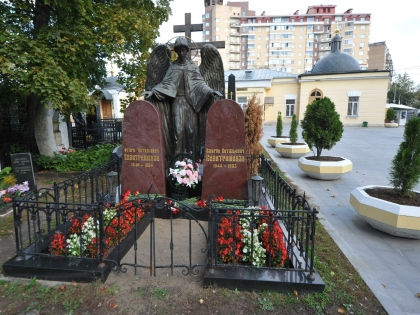 Ваганьковское кладбище // Russian Look