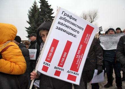Замминистра финансов не считает, что нужно помогать всем валютным заемщикам // Russian Look