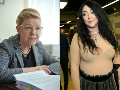 Елена Мизулина и Лолита Милявская // Global Look Press