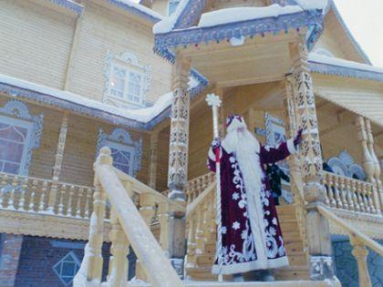 Дед Мороз принимает гостей // Yuriy Kaver / Global Look Press