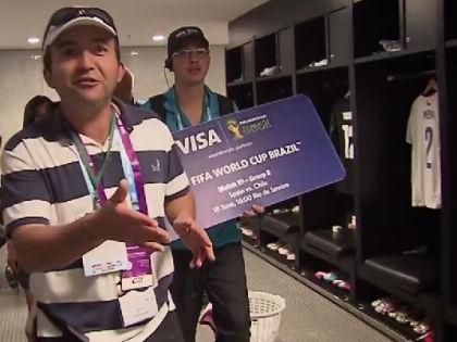 Visa является одним из основных спонсоров FIFA // Кадр: Youtube