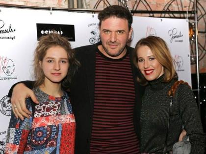 Полина Виторган, Максим Виторган и Ксения Собчак // пресс-служба Полины Виторган