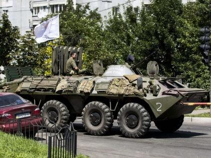 Военнослужащие в Донецке // Global Look