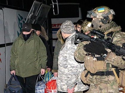 Обмен военнопленными в Донецке // Global Look Press