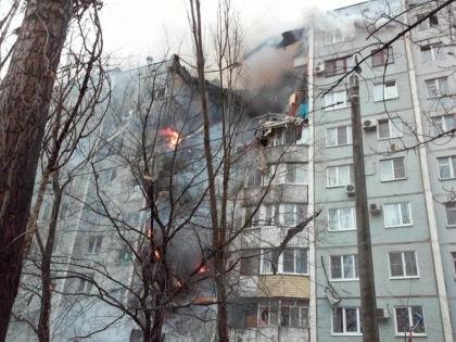 20 декабря в жилом доме в Волгограде взорвался газ // МЧС России