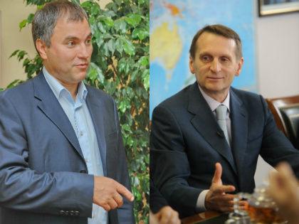 Вячеслав Володин и Сергей Нарышкин // Global Look Press
