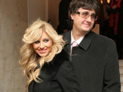 Ирина Нельсон с мужем Вячеславом Тюриным // Ольга Лоскутова / Global Look Press