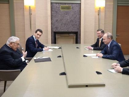 Генри Киссинджер и Владимир Путин // kremlin.ru