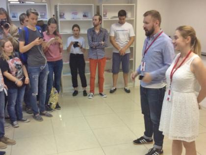 Вечером 3 августа в Москве открылся новый штаб Алексея Навального // Валерий Ганненко