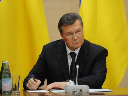 Экс-президент Украины Виктор Янукович может получить доступ к западным активам весной // GLOBAL LOOK Press