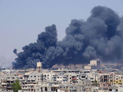 Сирия под бомбами // Global Look Press