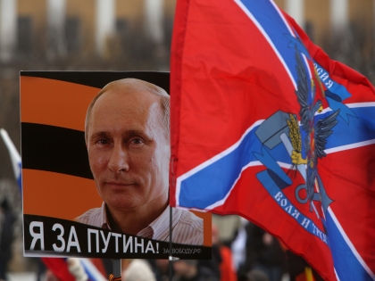 Внешнеполитические телодвижения Путина отвлекают народ от реальности // Global Look Press
