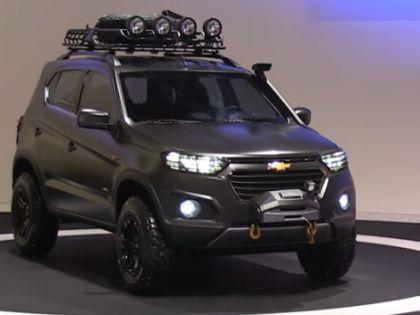 Новая Chevrolet Niva // Кадр YouTube