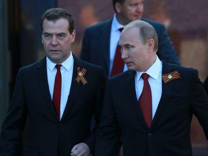 Дмитрий Медведев и Владимир Путин // Дмитрий Голубович / Russian Look
