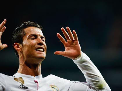 Роналду оформил дубль и стал лучшим бомбардиром еврокубков // Global Look Press
