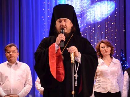 Епископ Ливенский и Малоархангельский Нектарий  // Стоп-кадр YouTube