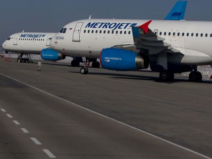Самолёты компании «Когалымавиа», также известной как MetroJet // Global Look Press