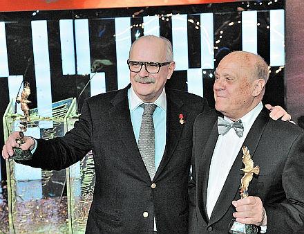 Никита Михалков и Владимир Меньшов // Андрей Струнин