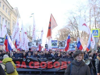 Акция 27 февраля в столице  // Валерий Ганненко / Sobesednik.ru