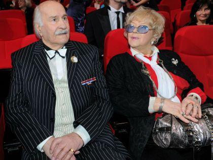 Владимир Зельдин с супругой Иветтой Капраловой // Russian Look
