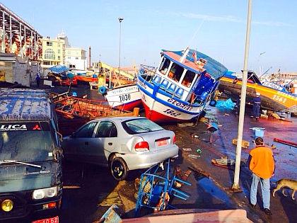 Последствия землетрясения в Чили // Global Look