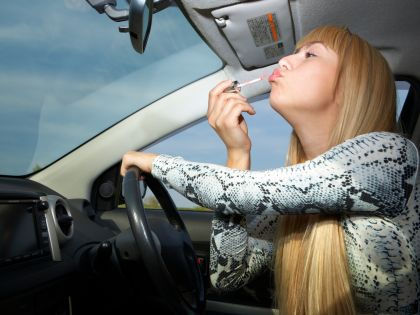 Женщина-водитель // Global Look