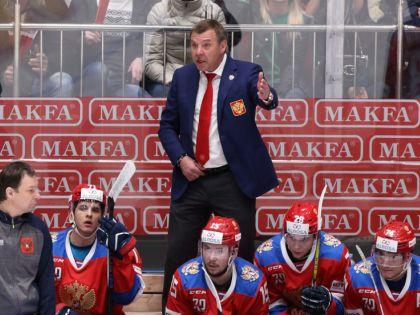 Тренер сборной РФ Олег Знарок // Alexander Kulebyakin / Global Look Press