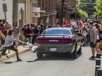 ФОТОрепортаж: Бойня в центре города Шарлотсвилль