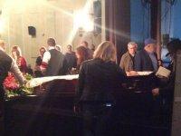 Церемония прощания с Антоном Носиком: ФОТО