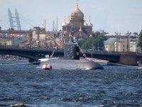 Главный военно-морской парад России: ФОТО