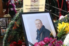 Мечислава Дмуховского похоронили 22 апреля на Троекуровском кладбище