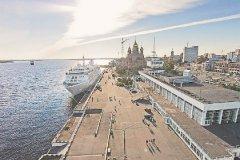 Морской-речной вокзал в Архангельске