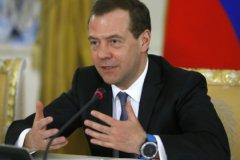 Дмитрий Медведев с новыми часами