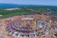 Самарский стадион является самой проблемной стройкой после знаменитой «Зенит Арены»