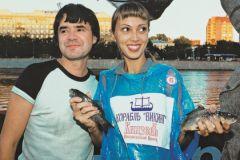 Евгений Осин с бывшей женой Натальей