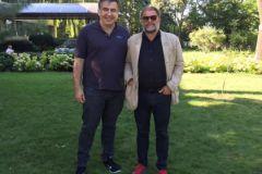 Михаил Саакашвили и Борис Гребенщиков