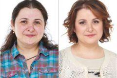 Наша героиня Диана – до и после