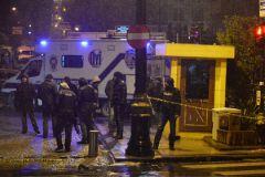 Смертница ворвалась в полицейский участок и привела в действие взрывное устройство